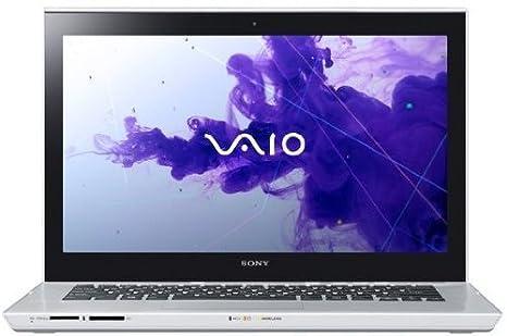 """Sony VAIO SVT14124CXS 1.9GHz i3-3227U 14"""" 1366 x 768Pixeles Pantalla táctil Plata"""