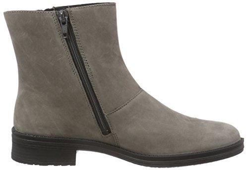 Legero ISEO - botines chelsea de cuero mujer gris - marrón grisáceo (stone 06)