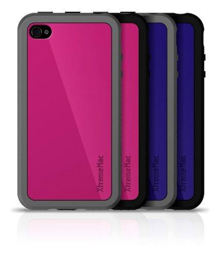 XtremeMac IPP-CUZ-33 Customize Case Schutzhülle für iPhone 4/4S (2 Stück) pink/violett