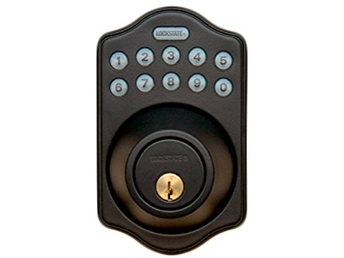 LockState LS-DB5i-RB-A RemoteLock WiFi Electronic Deadbolt Door Lock, Rubbed Bronze