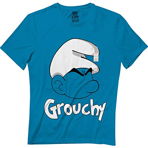 wintertee Grouchy Halloween Blue Outfit Costume Kids Adults Matching T -