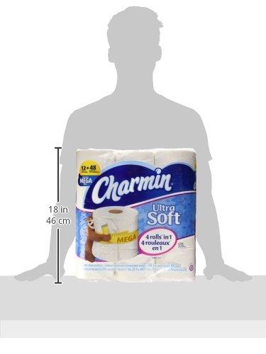 037000940500 - Charmin Ultra Soft Toilet Paper Mega Rolls, 308/Roll, 12 Roll/Pack, 4 Pk/Carton carousel main 7