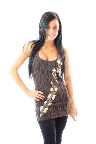 Star Wars Chewbacca Juniors Tank Top
