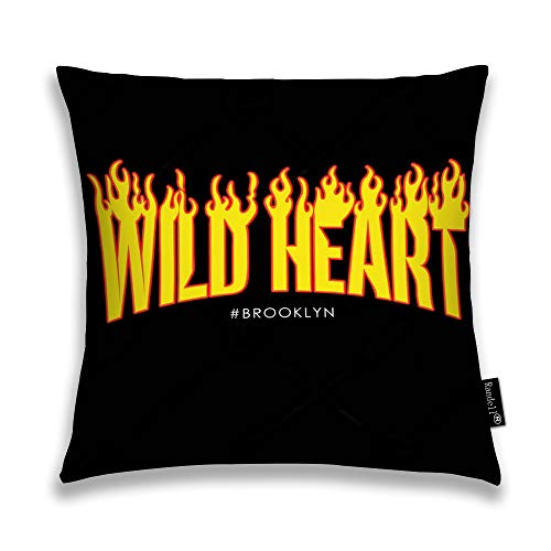 Randell Throw Pillow Covers Wild Heart Home Decorative Throw Pillowcases Couch Cases 20