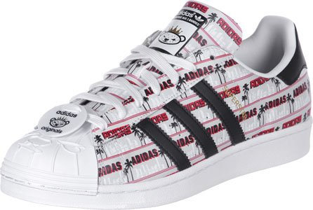 adidas in multicolore Superstar White Mens Bearfoot Originals NIGO Trainers rarp46