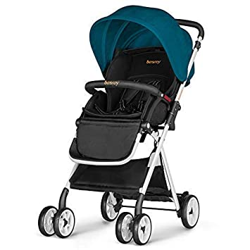 amazon com besrey lightweight baby stroller foldable infant baby