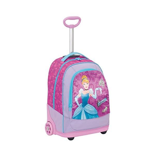 Big Trolley Disney , PRINESS DREAMY DRESS , Rosa , 30 Lt , 2in1 Zaino con spallacci a scomparsa , Scuola & Viaggio 1 spesavip