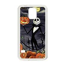 Samsung Galaxy S5 White phone case halloween jack skellington The best gift FOE9401524
