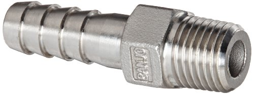 Banjo HB025-038SS Stainless Steel 316 Hose Fitting, Adapter, 1/4