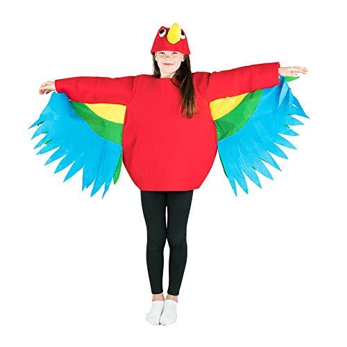 Bodysocks Kids Parrot Fancy Dress Costume