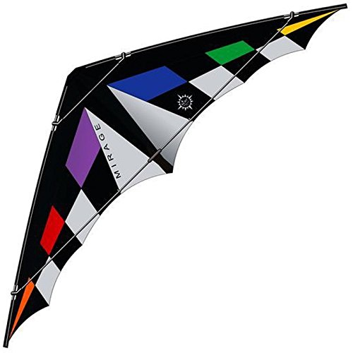 elliot 1011576 LENKDRACHEN / POWER Mirage XL, rainbow/schwarz/weiß