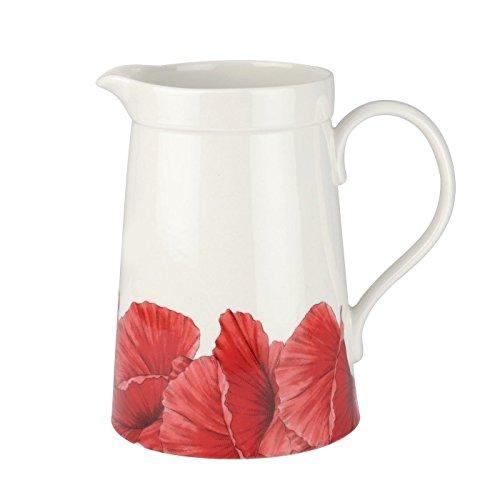 Portmeirion Botanic Blooms Poppy Large Beverage Jug