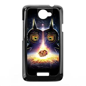 Printed Cover Protector HTC One X Cell Phone Case Black Majora's Mask Lhvzk Printed Cover Protector