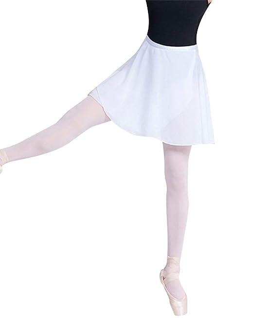 Falda De Abrigo Encaje La Danza De Ballet Una Falda Gasa con Lazo ...