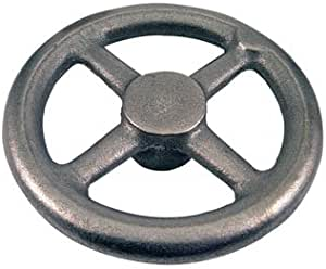 Polished Aluminum Dished Hand Wheel Without Handle 5//8 Hole Diameter Pack of 1 5-1//2 Diameter
