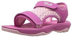 Teva Girls' T Psyclone Xlt Sport Sandal, Pink, 7 M Us Toddler