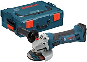 Bosch CAG180BL Bare-Tool 18-volt Lithium-Ion 4-1/2-Inch Angle Grinder with L-BOXX-2 and Exact-Fit Tool Insert Tray