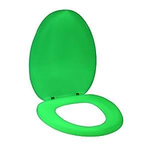 Dark Green Elongated Toilet Seat
