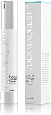 DermaQuest Essential Stem Cell Rebuilding Complex - Fine Lines, Wrinkles, Pore Size and Post Acne Scarring Reducer, 1 oz