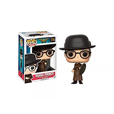 Funko POP DC Wonder Woman Movie Diana Prince Action Figure EE Exclusive from Funko
