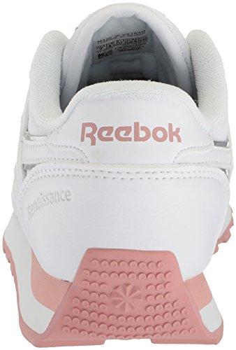 Piel silver Renaissance Pink Deportivos Reebok Talla Mujeres De Moda White chalk wA7nHPqExn