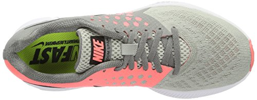Nike Zoom Span W - Zapatillas de Entrenamiento Mujer Grau (DUST/BLACK-LAVA GLOW-PALE GREY)