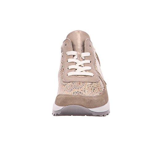 Lightgold Stringate 766 406 H64001 Cappucino Scarpe Waldläufer Donna Wq47Aann
