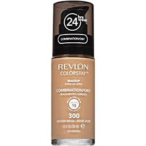 Revlon ColorStay Liquid Makeup for Combination/Oily, Golden Beige