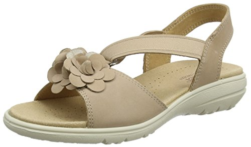 Toe Beige Sandals Women's Hannah Taupe Open Lt Hotter qC81twnO