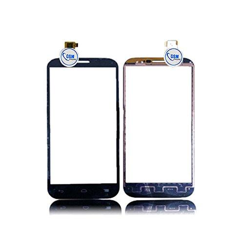 Touch Screen Front Glass Scheibe Display Glas Digitizer für Alcatel One touch Pop C7 7041D Schwarz # itreu