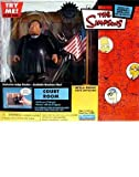 Simpsons - World of Springfield Interactive Environment (Playset) - Court Room w/exclusive Judge Snyder figure by The Simpsons