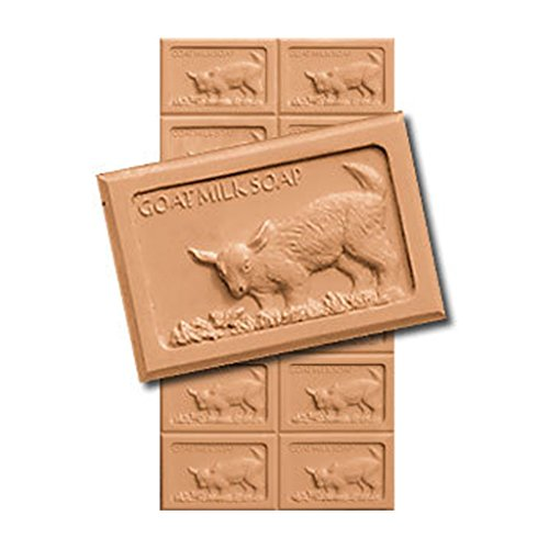 Goat & Butterfly Soap Mold. Melt & Pour with Copyrighted (Goat Milk Soap Mold)