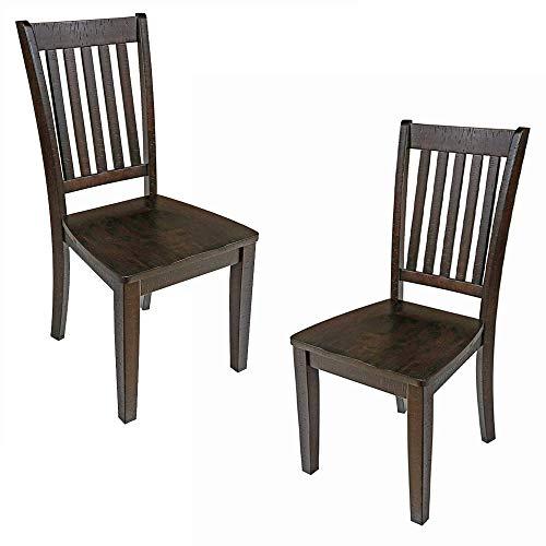 New Classic San Juan Dining Chair, Distressed Espresso