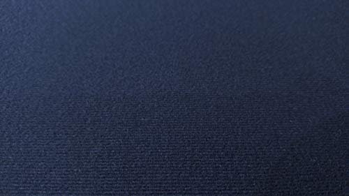 by The Yard Navy Blue- Auto One Automotive Upholstery Headliner Fabric 3/16