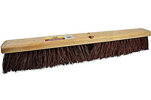 Bristles Janico Outdoor Surface Push Broom with Palmyra (36 Inch)