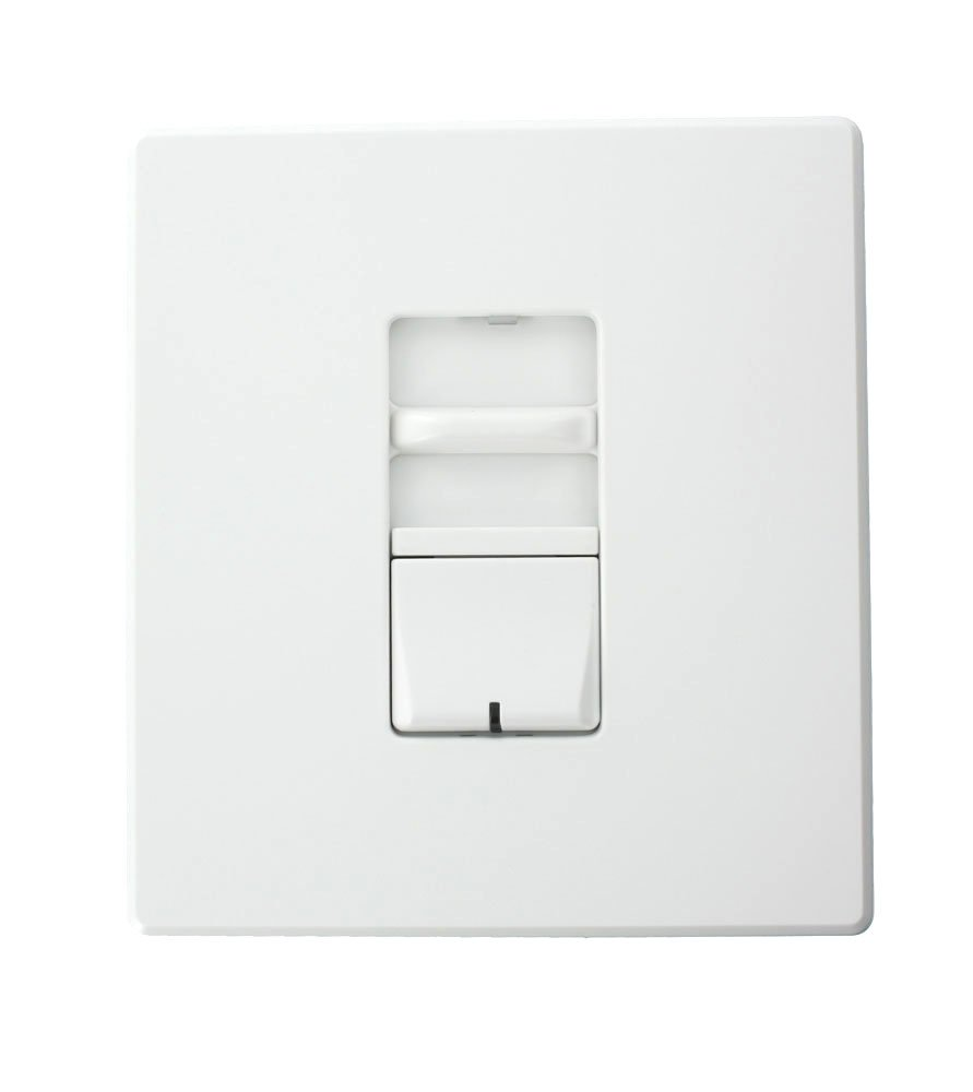 Leviton AWSMG-XCW Renoir II Preset Slide Dimmer, Ballast 2-Wire Control, Standard Heat Sink, Wide, 12.5 A, White by Leviton