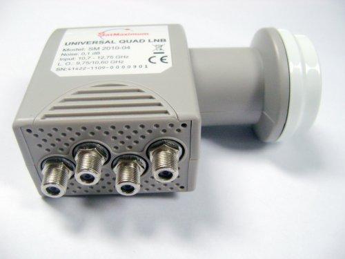 Cables Direct Ku Band Universal Quad LNB