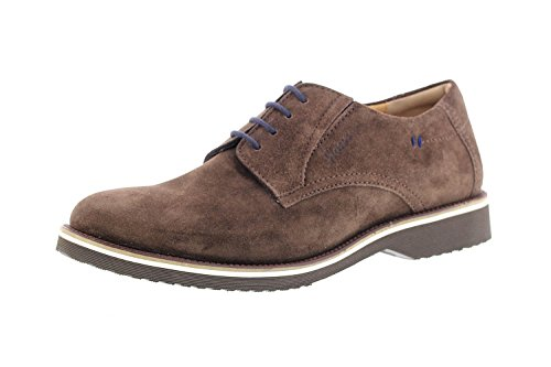 Sioux Men's 34804 Lace-up Flats Brown