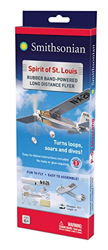 Smithsonian Rubber-Band-Powered Flyers - (Set of 4) by Smithsonian (Image #4)