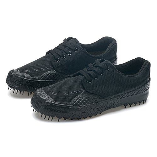 Hibote Unisexe Casual Respirant Camouflage Militaire Trainers Armée Sport Chaussures Durable Non-Slip Low-Top Sneakers en Plein Air Travail Chaussures Trekking Randonnée Chaussures