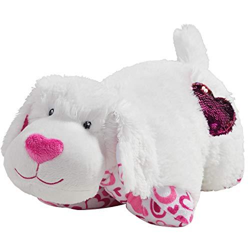Pillow Pets Valentine White Pup 11