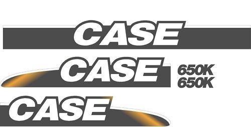 Case Crawler Dozer 650K Whole Machine Brand New Decal Set ()