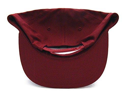 Obey Campaign Snapback Cap Hat Burgundy