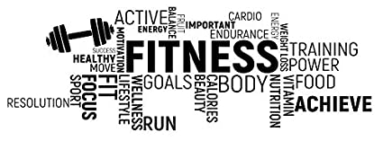 Spb87 Xxl Huge Fitness Quote Run Energy Fitness Exercise Gym