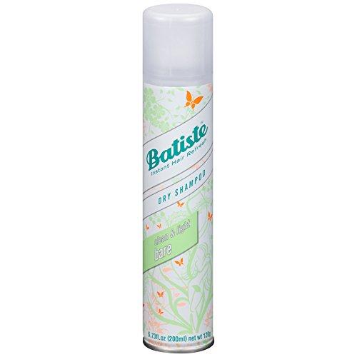Batiste Dry Shampoo, Bare Fragrance, 6 Count