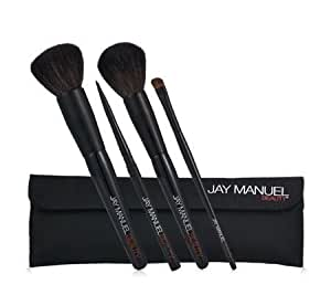 Jay Manuel Beauty 4-Piece Ultimate Brush Set