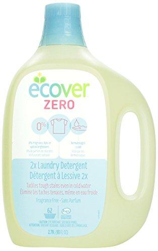 Bleach Laundry Ecover (Ecover Zero 2x Laundry Detergent Fragrance Free, 93 fl oz)