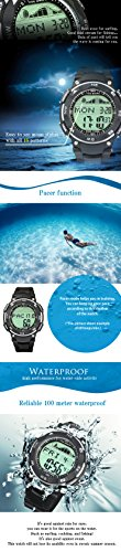LAD-WEATHER-Tide-graph-100-Meters-Waterproof-Moon-phase-High-Low-tide-Pacer-Fishing-Surfing-Mens-Watch