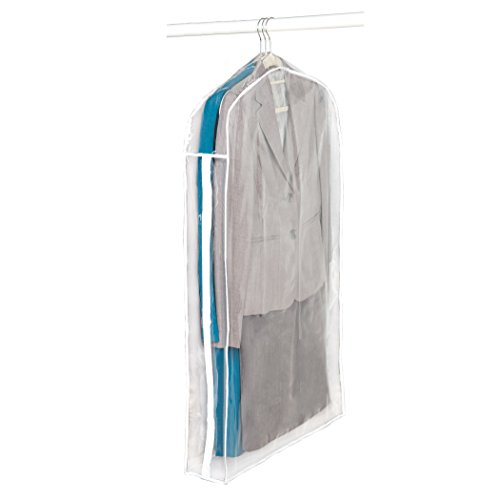 Garment Clear (Clear Vinyl Storage Suit Garment Cover: 40