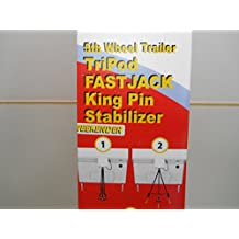 5th Wheel Tripod Jack Camper Trailer RV King Pin Stabilizer Locking Jack Stand